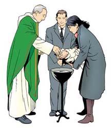 Sacrement initiation Baptême