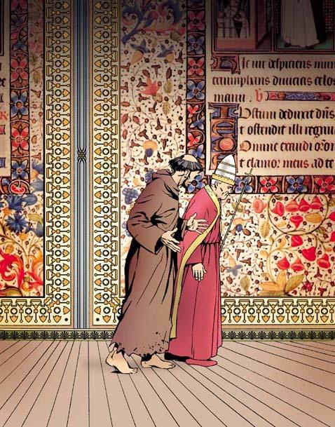 Saint François d'Assise et Innocent III