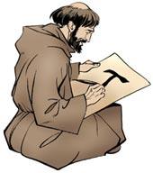 Saint François d'Assise tau frère Léon