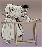 Jésus-Christ charpentier