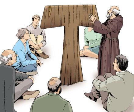 Tau de Saint François d'Assise