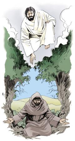 Франциск Ассизский вдохновлённый Евангелием